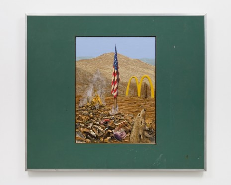 Llyn Foulkes, Old Glory, 1996/2001-2003 , David Zwirner