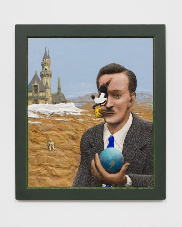 Llyn Foulkes, To Ub Iwerks (Portrait of Walt Disney), 1995 , David Zwirner