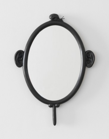 Nicolas Party, Mirror with a Snail (edition of 12 + 2AP), 2017 , Xavier Hufkens