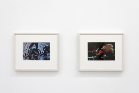 Howardena Pindell, Video Drawings: Track and Video Drawings: Boxing, 2007, galerie frank elbaz