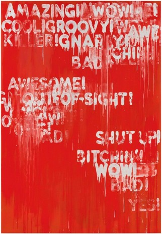 Mel Bochner, Amazing!, 2015 , Peter Freeman, Inc.