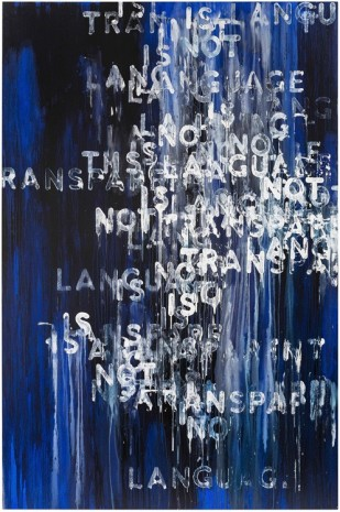 Mel Bochner, Language Is Not Transparent, 2015 , Peter Freeman, Inc.