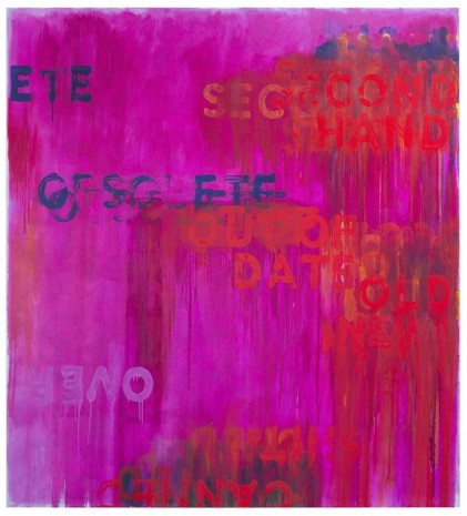 Mel Bochner, Obsolete, 2016 , Peter Freeman, Inc.
