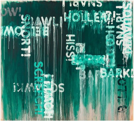 Mel Bochner, Howl!, 2016 , Peter Freeman, Inc.