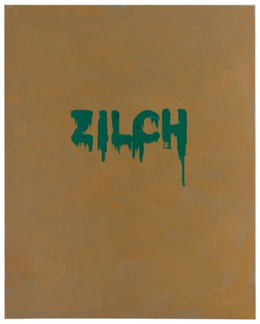 Mel Bochner, Zilch, 2016 , Peter Freeman, Inc.