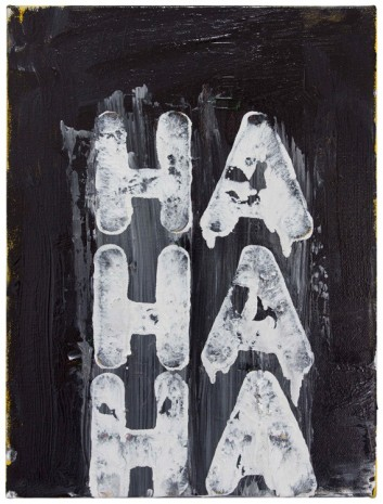 Mel Bochner, Ha, Ha, Ha, 2015 , Peter Freeman, Inc.
