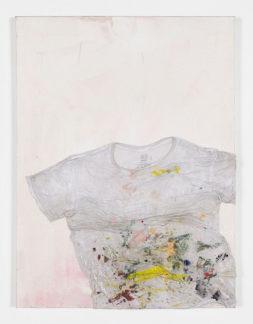 Brenna Youngblood, T-Shirt, 2017, Galerie Nathalie Obadia