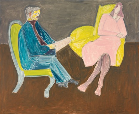 Milton Avery, Young Couple (Husband and Wife), 1963, Victoria Miro
