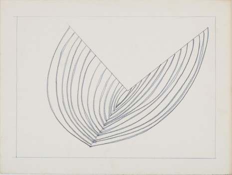 Melvin Edwards, Untitled Barbed Wire Study, 1970, Galerie Buchholz