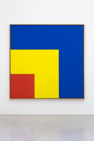 Ellsworth Kelly, Red, Yellow, Blue III, 1963, kamel mennour