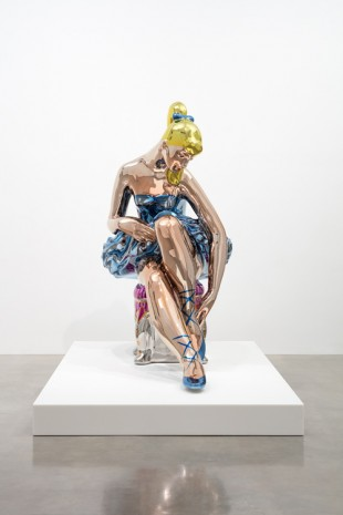 Jeff Koons, Seated Ballerina, 2010–15, Gagosian