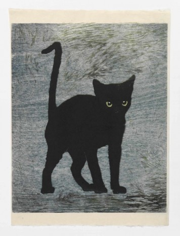 Mamma Andersson, Black Cat, 2015, Stephen Friedman Gallery
