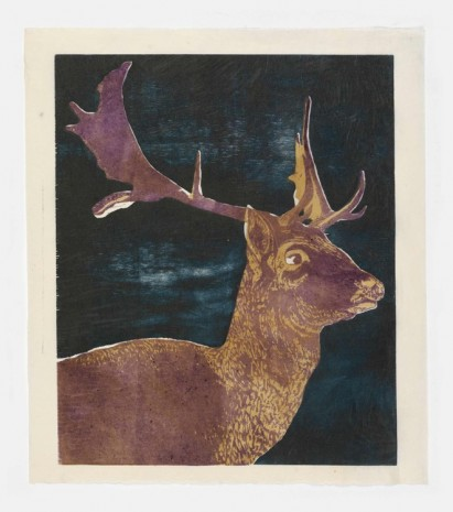 Mamma Andersson, The Fallow Deer, 2016, Stephen Friedman Gallery