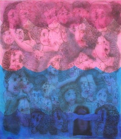 José Lerma, Royal Family by Jean Nocret Under Water, 2017, Brand New Gallery