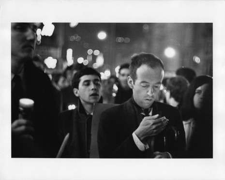Peter Moore, March for Freedom of Expression, New York, Taylor Mead],, 1964, Paula Cooper Gallery
