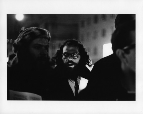 Peter Moore, [March for Freedom of Expression, New York, Peter Orlovsky and Allen Ginsberg], 1964, Paula Cooper Gallery