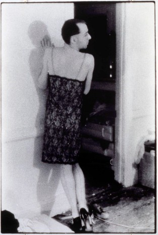 Zoe Leonard, Iolo Carew, wearing my slip, 1981/1990, Paula Cooper Gallery