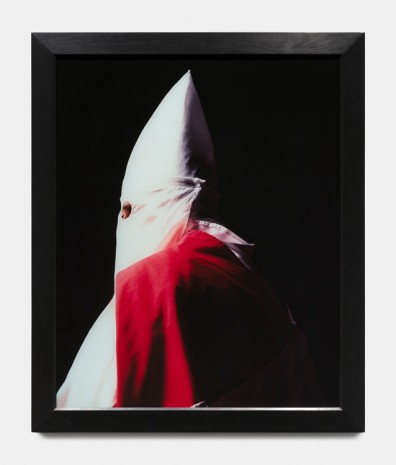 Andres Serrano, Klansman (Great Titan of the Invisible Empire), 1990, Paula Cooper Gallery