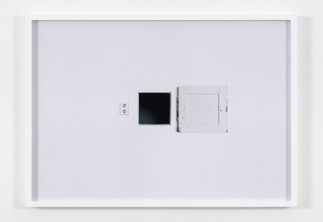 Carey Young, Black Square (Cell), 2016, Paula Cooper Gallery