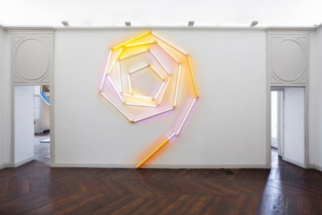 Mark Handforth, Amber Fractal, 2017, Galleria Franco Noero