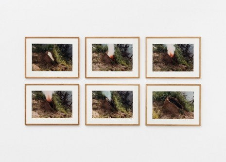 Ana Mendieta, Volcán, 1979 , Alison Jacques Gallery