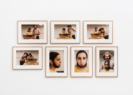 Ana Mendieta, Untitled (Facial Hair Transplants), 1972, Alison Jacques Gallery