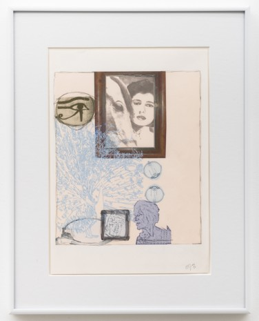 Jo Baer, Altar of the Egos (Through a Glass Darkly) Drawing, 2002, ESSEX STREET