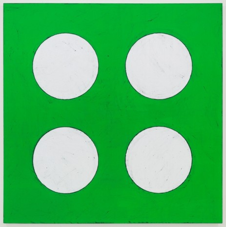Matt Mullican, Untitled (2x2 Elements Sign), 2015, Mai 36 Galerie