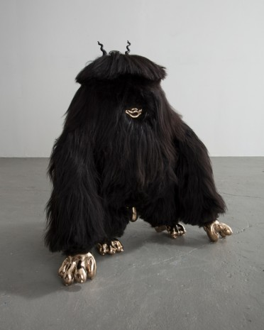 The Haas Brothers, Johnny Squattin' Furry, 2016, Rhona Hoffman Gallery