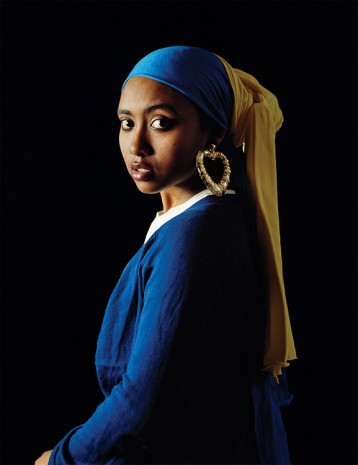 Awol Erizku, Girl with the Bamboo Earring, 2009, Sean Kelly