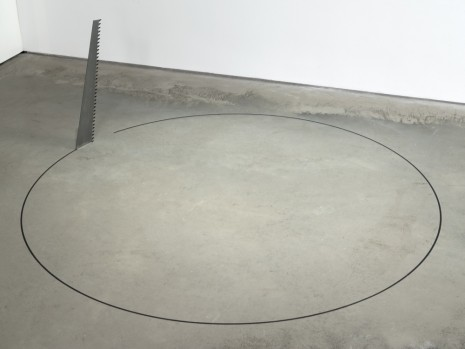 Ceal Floyer, Saw, 2015, 303 Gallery