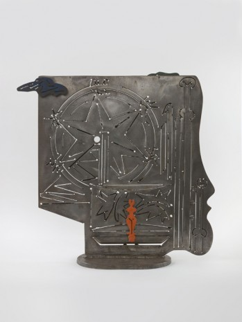 David Smith, Steel Drawing II, 1944 – 1945, Hauser & Wirth