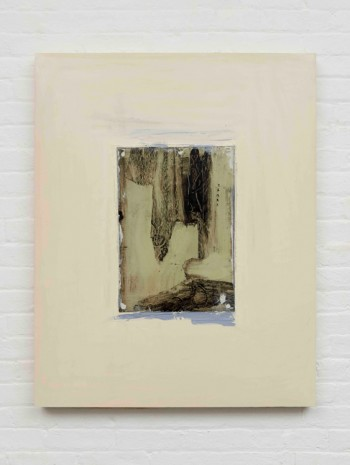 Erik Lindman, Untitled (Green Metal Plate), 2017, Almine Rech Gallery