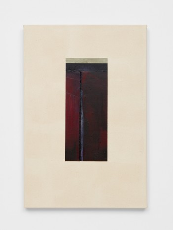 Erik Lindman, Untitled (Red, Green and Purple Canvas), 2015 - 2017, Almine Rech Gallery