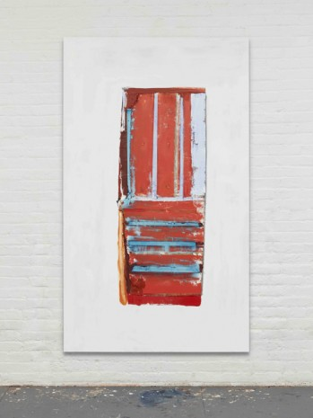 Erik Lindman, Red Door, 2017, Almine Rech Gallery