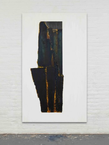 Erik Lindman, Untitled (Dark Wood), 2017, Almine Rech Gallery
