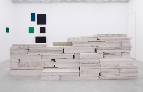Franka Hörnschemeyer, Low Frequency (front), 1989/1990/2005/2006/2010/2012, Galerie Nordenhake