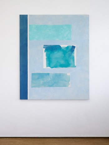 Peter Joseph, Several Blues, 2016, Lisson Gallery