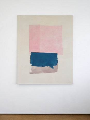 Peter Joseph, Pinks, Dark Blue and Brown, 2017, Lisson Gallery