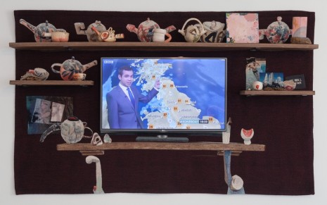 Laure Prouvost, The TV Mantelpiece, 2016 , Galerie Nathalie Obadia