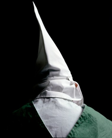 Andres Serrano, Klansman, Knight Hawk Of Georgia Of The Invisible Empire IV (The Klan), 1990, Galerie Nathalie Obadia
