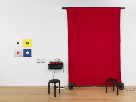 Angela Bulloch, Small Red Music Listening Station, 2017, Simon Lee Gallery