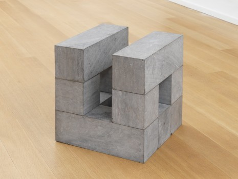 Carl Andre, Belgicube I, 1988, Simon Lee Gallery
