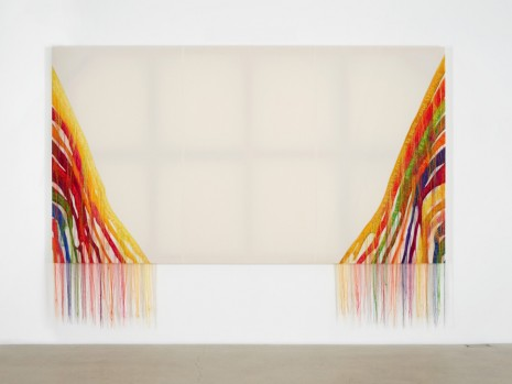 Kyungah Ham, Abstract Weave / Morris Louis Alpha Upsilon 1960 NB001-01, 2014, carlier I gebauer