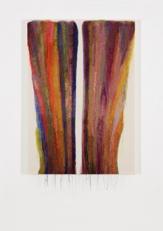 Kyungah Ham, Abstract Weave / Morris Louis Air Desired 1959 SS01-01, 2015, carlier I gebauer