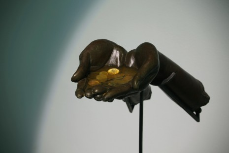 Chen Wei, Coins and Hands, 2016, ShanghART