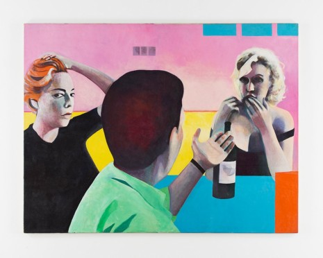 Sue Dunkley, Untitled (Marilyn, Yves & Simone), c. 1975, Alison Jacques Gallery