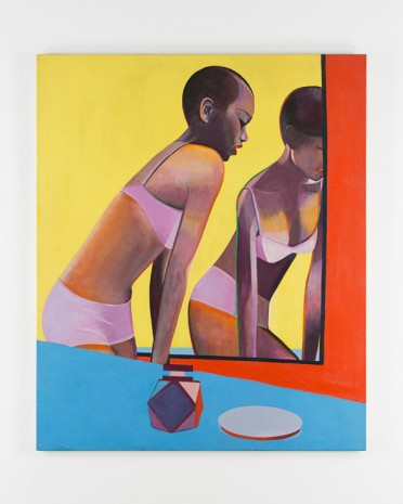 Sue Dunkley, Woman in Mirror, c. 1970 , Alison Jacques Gallery