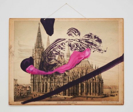 Julian Schnabel, Untitled (Cologne Cathedral), 2016 , Almine Rech