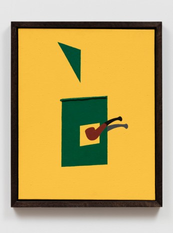 Patrick Caulfield, Pipe & Blind, 1990      , The Approach